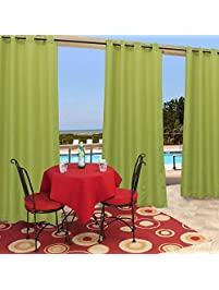 Cooland Polyester Solid Grommet Top Outdoor.