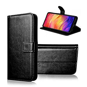 BRACADE Flip Cover | PU Leather Magnetic Wallet Back Cover Case for OnePlus Nord