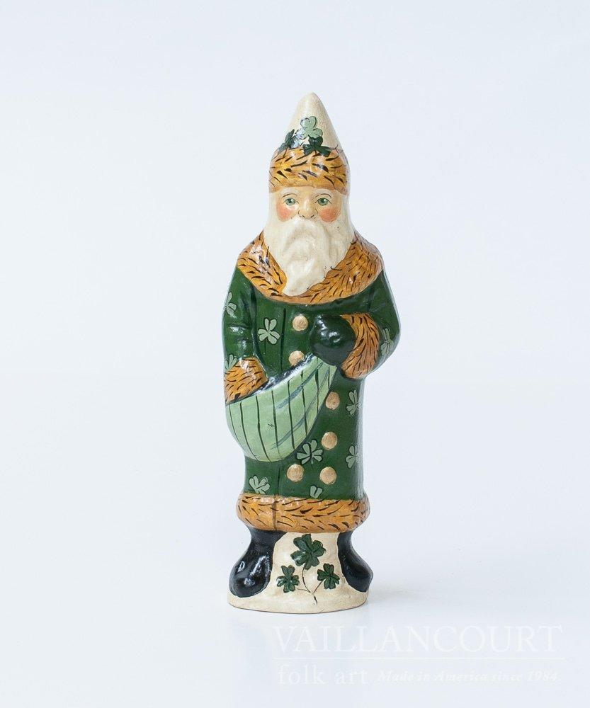 Irish Santa by Vaillancourt Folk Art