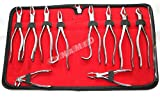 New German Stainless 10 Pcs Dental Extraction