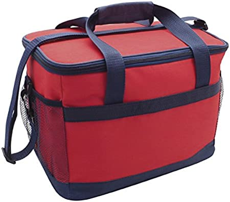 Country Club 16L Deluxe Cooler Bag Red