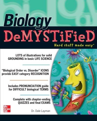 Biology Demystified (TAB Demystified)