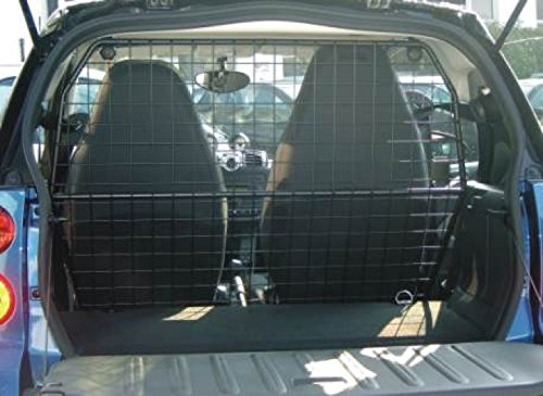 Dog protection grille separating grid smart fortwo 451