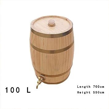 MG 100L Barril De Cerveza De Madera Barril De Vino Tinto ...