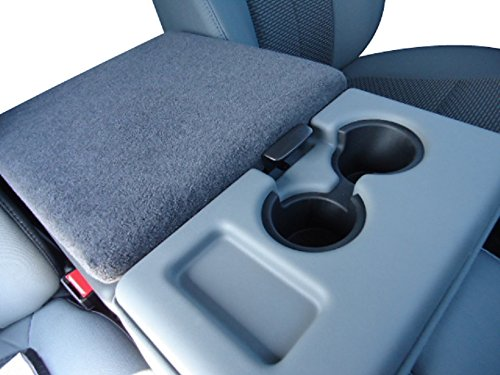 Car Console Covers Plus fits Ford F150 F250 Trucks 2014-2019 Fleece Armrest Cover for Center Console Lid, Your Console Should Match Photo Shown and Lid Must Open