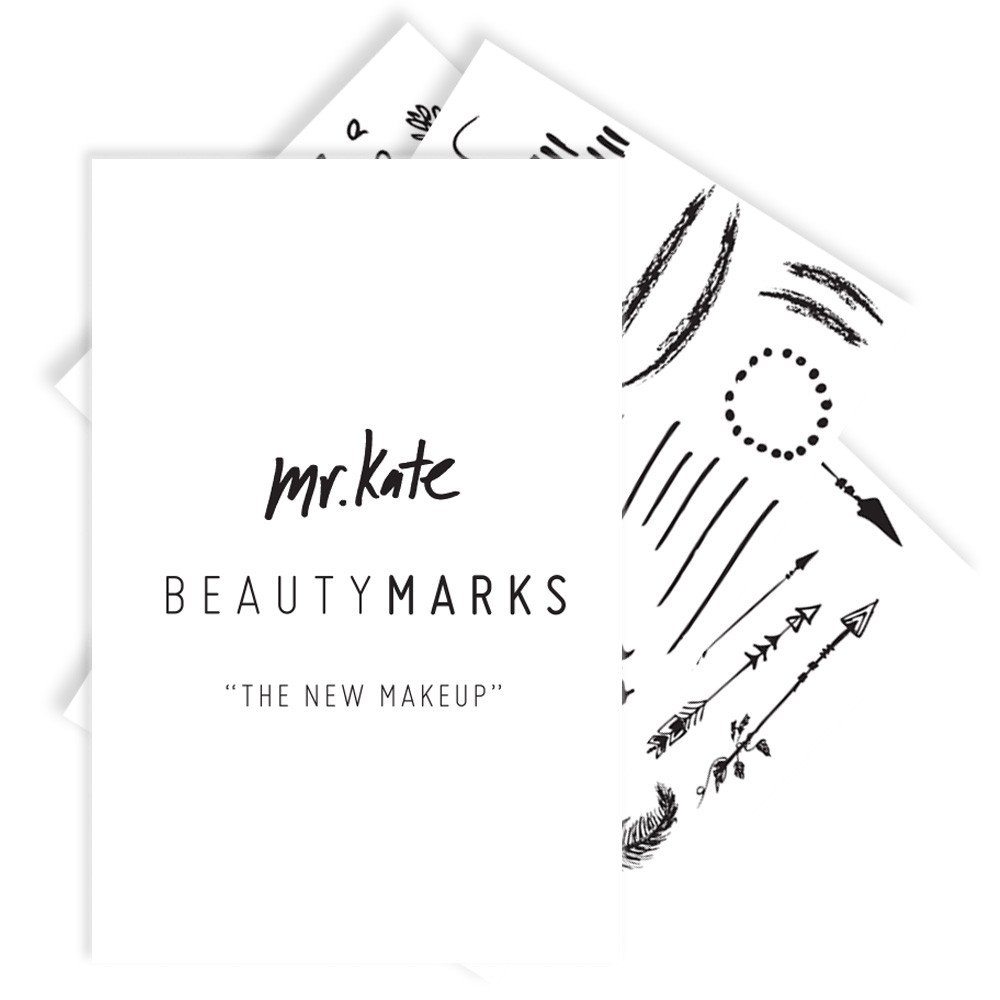 BeautyMarks ''The New Makeup'' - Black