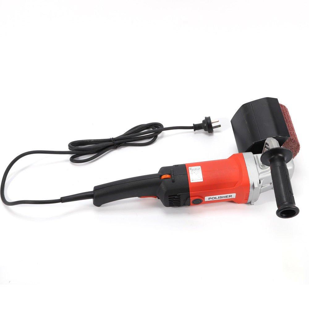 OUKANING 1400W 230V/50HZ Lijadora Pulidor Metal Burnishing ...