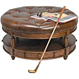 Reual James 201 080 Round Cocktail Ottoman, Windsor