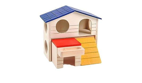 Fully Totalmente de Madera de Dos Pisos Hause Playground Cama de ...