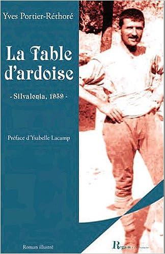 La Table D Ardoise French Edition Portier Rethore