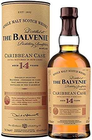 Balvenie Whisky Caribbean Cask 70cl