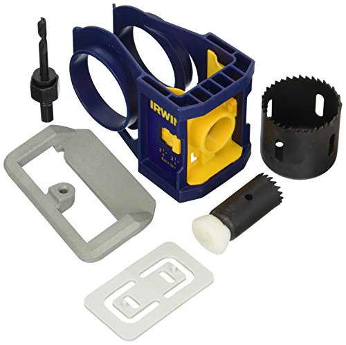 IRWIN Wooden Door Lock Installation Kit, 3111001