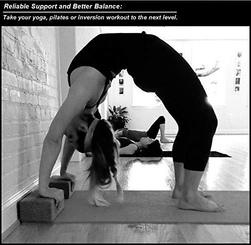 Corcho Yoga Bloques 2 Unidades y Correa Set Combo (3