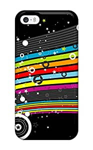 New Style 7906716K43743947 New Colorful Stars Hd Tpu Case Cover, Anti-scratch Phone Case For Iphone 5/5s