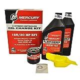 OEM Mercury Marine 4-Stroke 25/30HP EFI Outboard Oil Change Kit 8M0081915