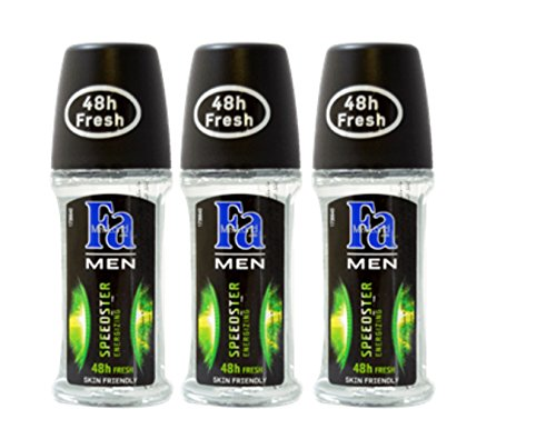 oll-On (3 Pack) (fa MEN speedster energizing) ()