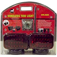 Voyager Tools Fully Wireless Magnetic Tow Lights That Ensure Legal Transport of Vehicles Or Trailers. Don't Be Left in…