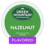 Green Mountain Coffee, Hazelnut, Single-Serve Keurig K-Cup Pods, Light Roast Coffee, 72 Count (3 Boxes of 24 Pods)