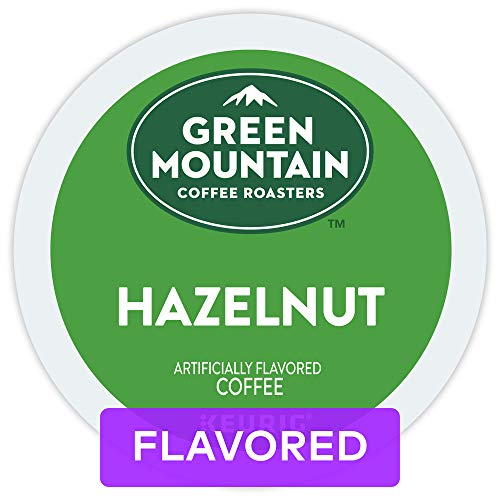 Green Mountain Coffee Roasters Hazelnut, Single Serve Coffee K-Cup Pod, Flavored Coffee, 72