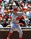 Signed Garcia Photo - At Bat 8x10 Coa - Autographed MLB Photos