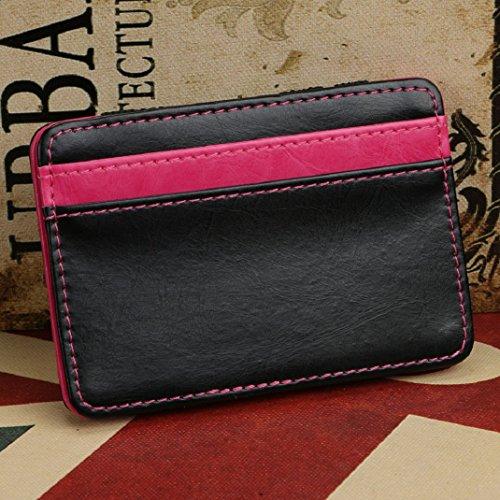 Magic Bifold Luxury Rosa in pelle Neutral Amison Portafoglio Caldo fermasoldi Portafoglio Mini Portafoglio wtUAI