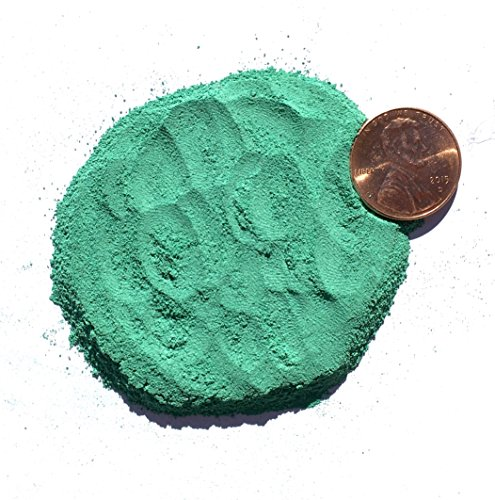 Natural Crushed Malachite Stone Inlay, Fine, 1/2 ounce ()