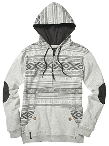 Billabong Ziggy Zip Hood Grey Marley Sweatjacke