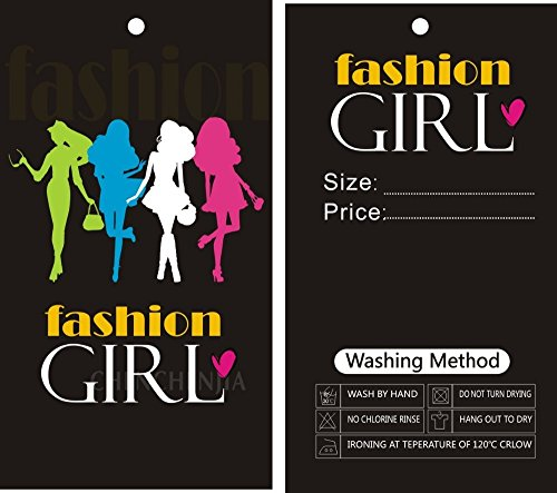 custom print hang tags 500PCS only 42usd, price tags, Garment hangTags, label tags free design
