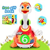 Baby Musical Toys Dancing Hip Hop Swing Goose Development Musical Fun Toys