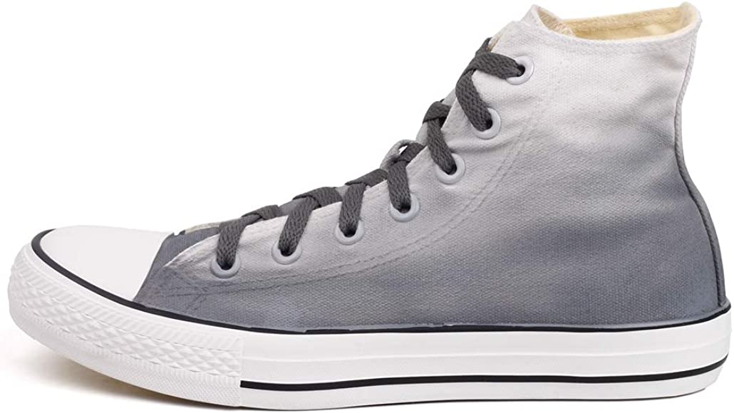 Grey Sneakers Canvas Shoes Casual