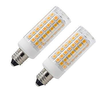 Bombilla LED E11 75 W 100 W halógena de repuesto de 850 lúmenes, JD e11
