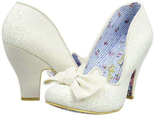 Irregular Choice Nick Of Time Cream Femmes HeelsChaussures