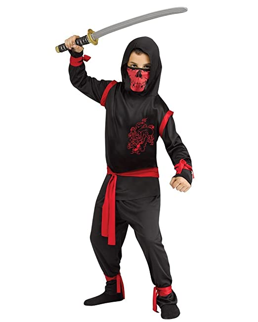 Amazon.com: Dragon Ninja Costume Child: Toys & Games