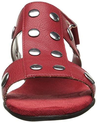 Aerosoler Womens På Hjertet Gladiator Sandal Red