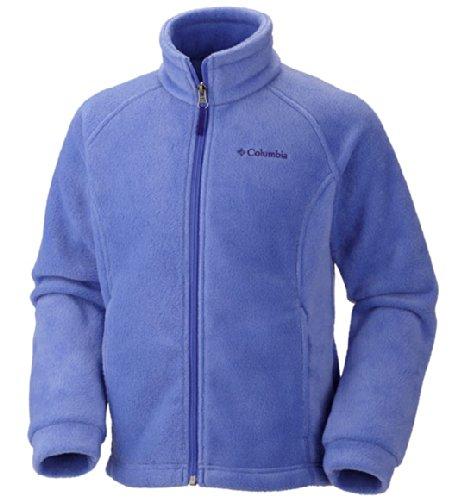 Columbia Little Girls' Toddler Benton Springs Fleece Jacket, Purple Lotus, 2T