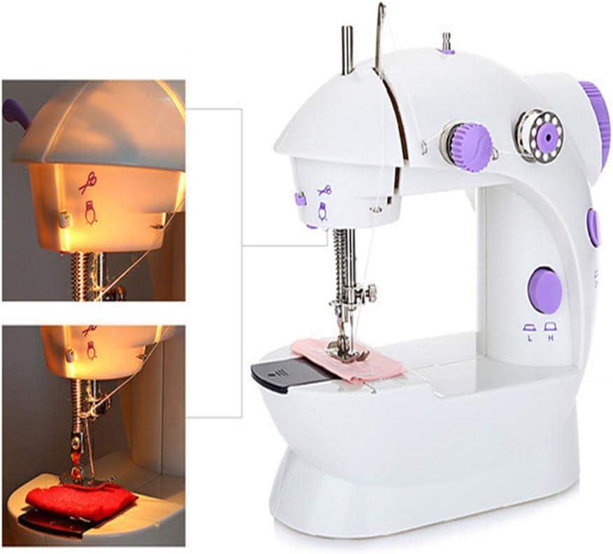 fang zhou Mini máquina de Coser automática eléctrica portátil, con ...