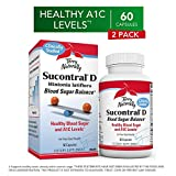 Terry Naturally Sucontral D (2 Pack) - 20 mg Hintonia Latiflora, 60 Capsules - Supports Blood Sugar Balance & Carbohydrate Metabolism - Non-GMO, Gluten-Free - 120 Total Servings