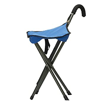 LOKEP Folding Cane Walking Stick Seat C& Stool Chair  sc 1 st  Amazon.com : walking stool seat - islam-shia.org