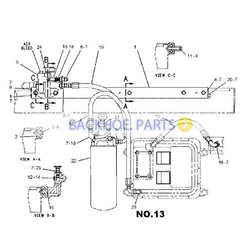 amazon com: for caterpillar engine 3176 3176b 3176c 3196 c-10 c-12  regulator valve 104-1706: automotive