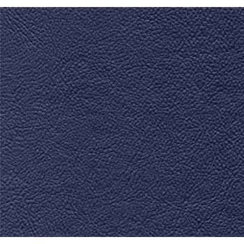Amazon Com Brand New Navy Blue Leather Look Vinyl Full