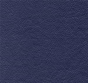 Amazon Com Brand New Navy Blue Leather Look Vinyl Full