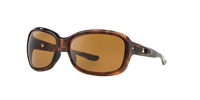14ad22f70e Oakley Für Frau Urgency Oo9158 Tortoise   Bronze Polarized  Kunststoffgestell Sonnenbrillen  Amazon.de  Bekleidung