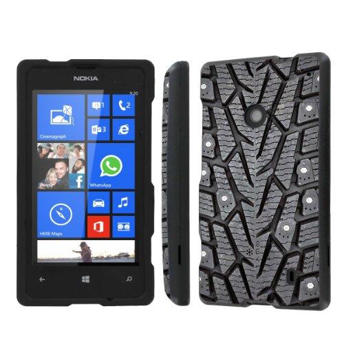 NakedShield Nokia Lumia 635 (Tire) Total Hard Armor Protection LifeStyle Phone Case