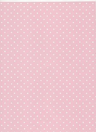 papel pintado lunares negativo rosa 11248 - Papel Pintado Lunares