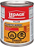 Best Wood Fillers - LePage Plastic Wood Filler, 473ml, Tan (1819160) Review