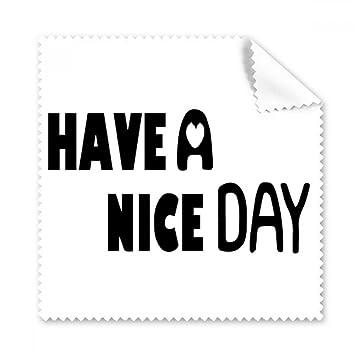 Diythinker Englisch Zitat Entwurf Nice Day Amazonde Elektronik