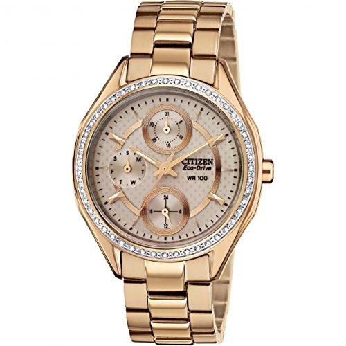 Citizen Eco-Drive Ladies  Rose Multidial Bracelet Watch (One Size ... 4f5c4b3d3