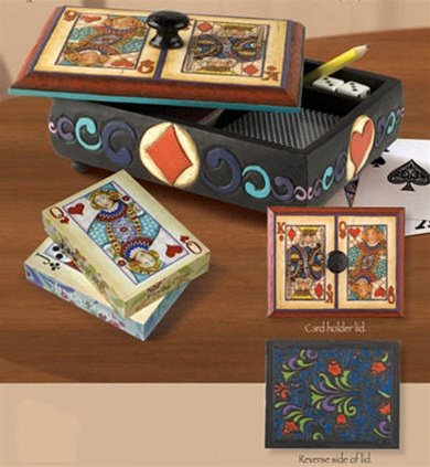 Jim Shore Deluxe Dice and Cards Boxの商品画像