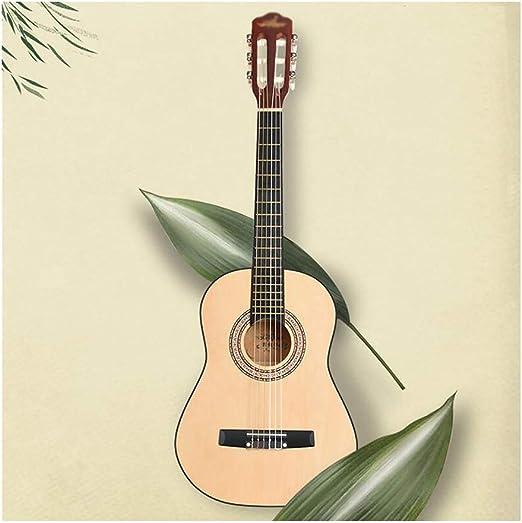 Guitarra Acústica Clasica Niños Principiantes Retro Abeto Guitarra ...