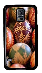 cute Samsung Galaxy S5 cases Best Easter Eggss PC Black Custom Samsung Galaxy S5 Case Cover